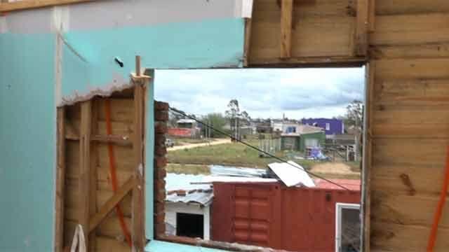 En marcha la recuperación de San Carlos: 750 viviendas afectadas