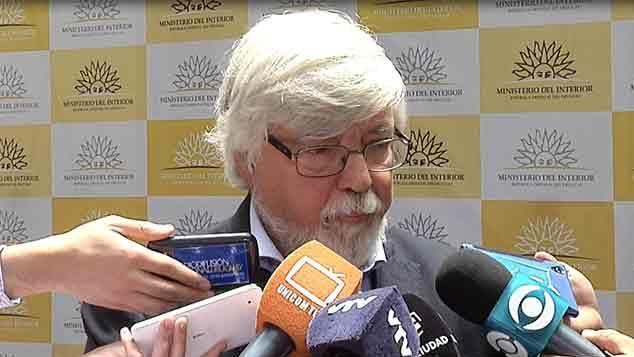 Bonomi anuncia un descenso mayor de los delitos y critica a la oposición