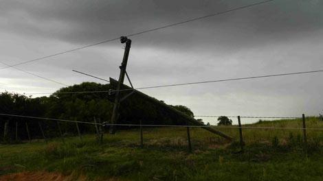 Meteorología actualizó alerta por lluvias intensas para el norte del país