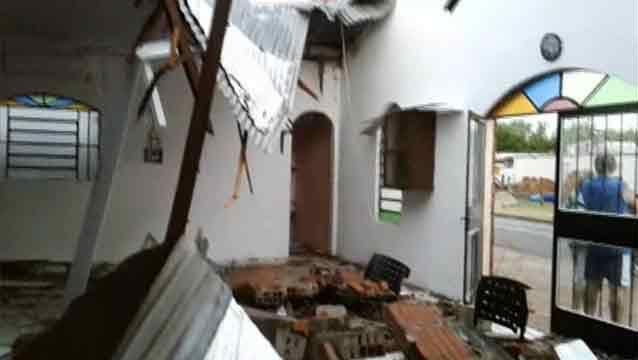 Al menos seis lesionados y daños en 20 viviendas provocó temporal en Melo