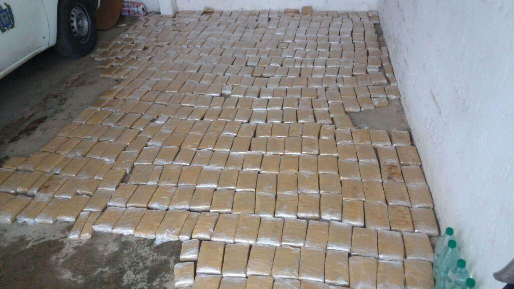 Brigada Antidrogas incautó más de cuatro toneladas de marihuana en 2016