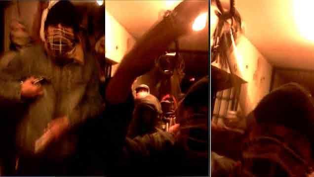 VIDEO: Presos se amotinaron en cárcel de Las Rosas y dos resultaron heridos