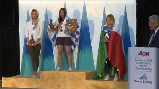Lola Moreira se consagró campeona del Mundial Juvenil en Nueva Zelanda