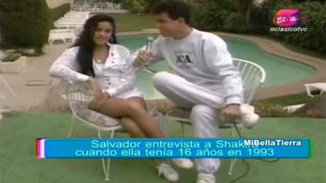 Shakira irreconocible en video de 1993 cuando quería conocer a Ricky Martin