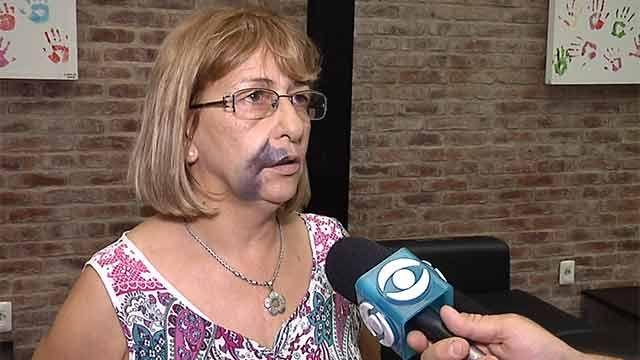 Mujer víctima de agresión antisemita en la vereda, en Punta Carretas
