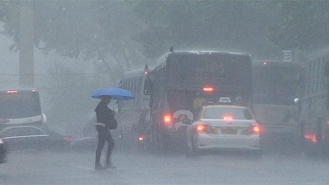 Advertencia naranja por tormentas intensas para todo el país