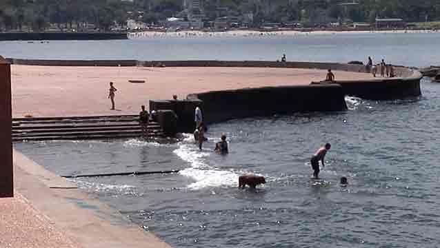 Todas las playas habilitadas están aptas para baños, según la Intendencia
