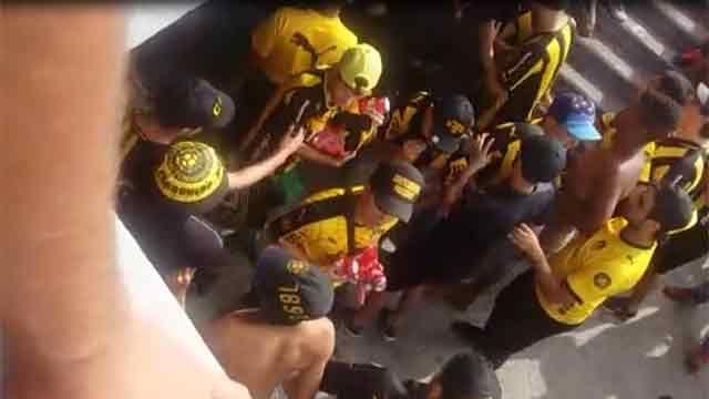 6 de los 7 hinchas de Peñarol procesados por receptación quedaron libres