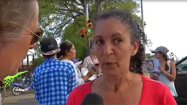 Movilización en Pando para pedir ayuda por la joven desaparecida