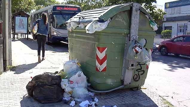 Nuevo paro de Adeom el jueves afectará la recolección de residuos