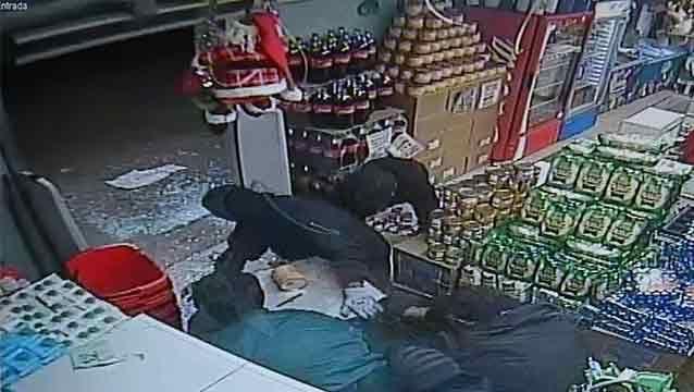 Ladrones robaron la caja fuerte de un súper con $300.000 en barrio Peñarol