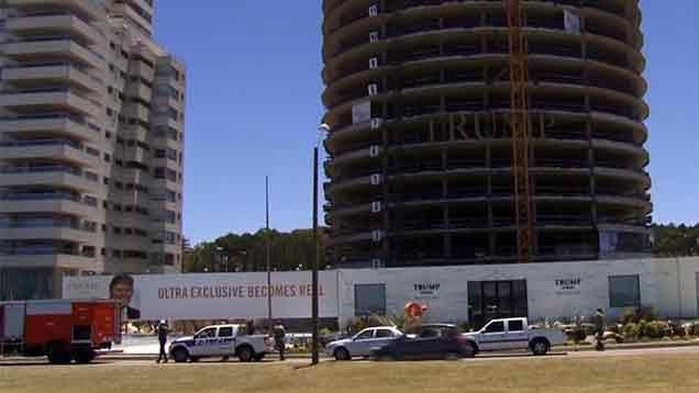 Falsa alarma de bomba obligó a evacuar la Torre Trump de Punta del Este