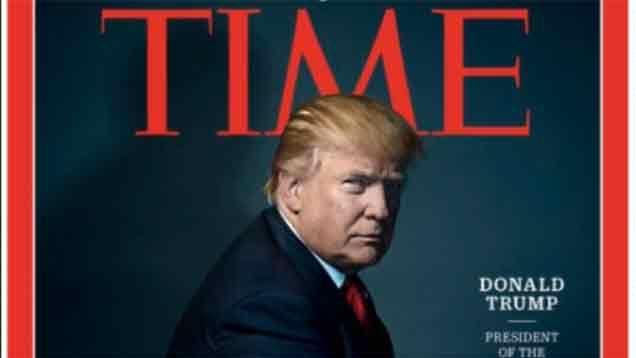 Donald Trump es la Personalidad del año 2016, según la revista Time
