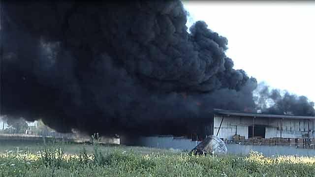 Falleció trabajador de fábrica de productos químicos herido durante incendio