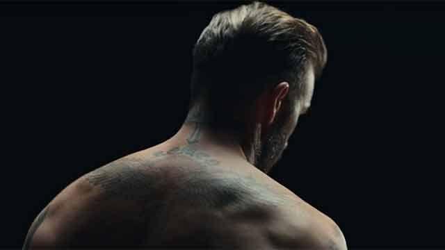 Los tatuajes de David Beckham cobran vida en un spot que conmueve al mundo