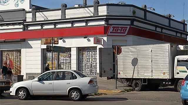 Arrancaron caja fuerte de un supermercado con $ 200.000