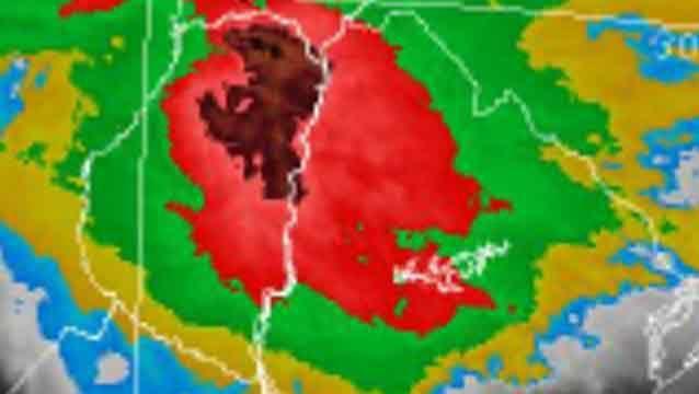 Quedan 5 departamentos bajo advertencia de nivel amarillo por tormentas