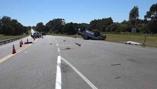 Conductor sin libreta y alcoholizado protagonizó accidente fatal