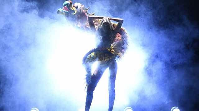 Lady Gaga y Bruno Mars en el desfile parisino de Victorias Secret
