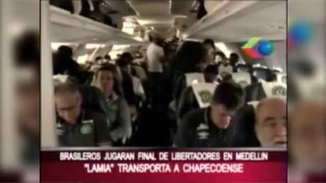La última entrevista del Chapecoense en Bolivia horas antes del accidente