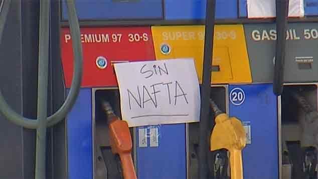 Ancap notifica sanciones a estaciones de servicio que se plegaron al paro