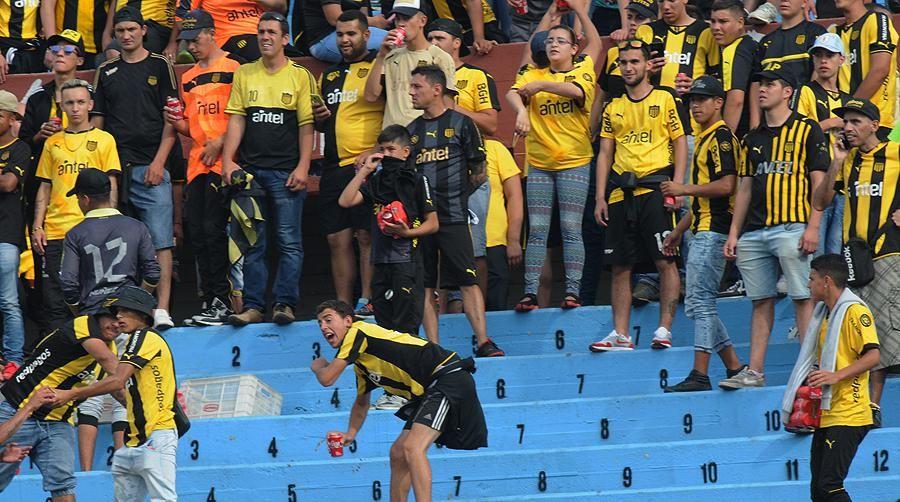 Procesaron con prisión a 8 hinchas de Peñarol por los incidentes del clásico