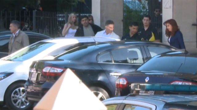Cristina Fernández se presentó en tribunales tras no presentarse el viernes