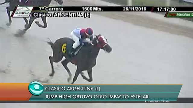 Jump High se impuso en el Clásico Argentina