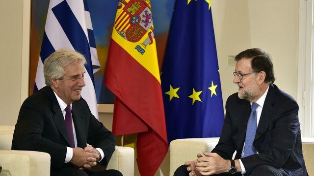 Tabaré Vázquez se reunió con Mariano Rajoy y con empresarios españoles