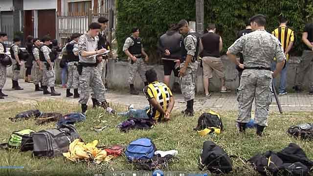 300 detenidos, casi todos liberados, por incidentes previos al Clásico