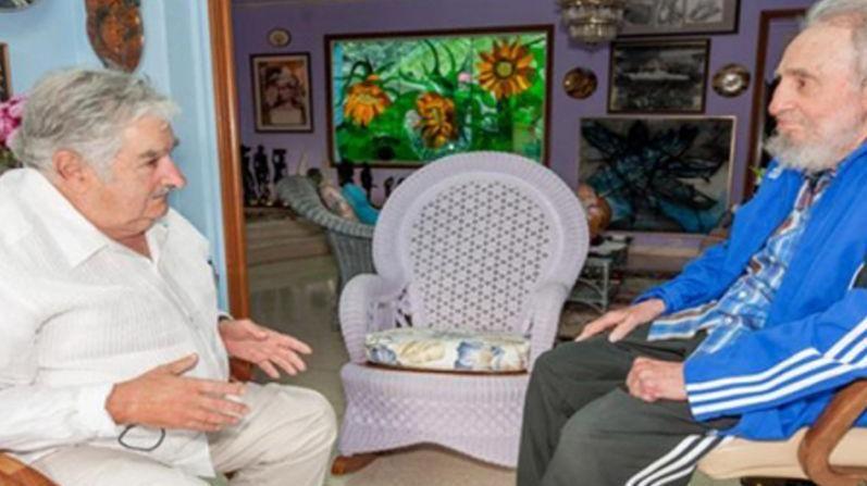 Mujica: Fidel tuvo estatura de Quijote enfrentándose al poder de EE.UU.