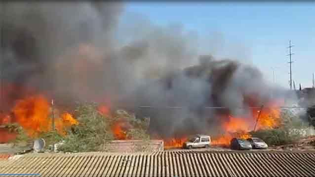 80.000 israelíes evacuados por incendios que azotan al país hace 3 días