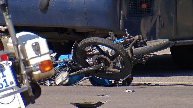 Un motociclista murió tras chocar contra un ómnibus en Maroñas