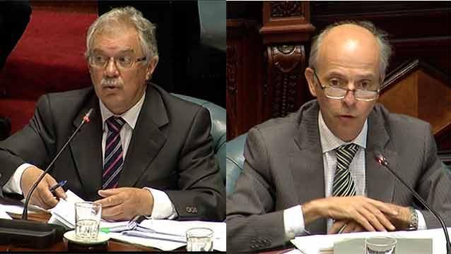Duro enfrentamiento entre Javier García y el ministro de Defensa