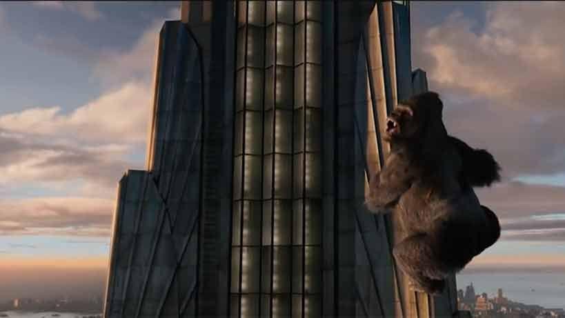El gorila gigante King Kong ha cumplido 80 años