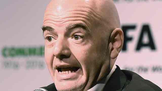 Presidente de FIFA espera el arbitraje con video para el Mundial 2018