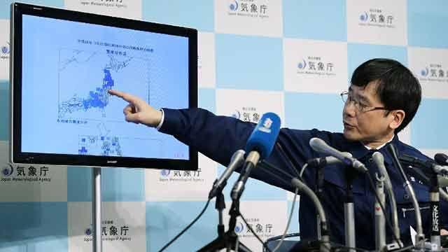 Japón levantó alerta tras tsunami de 1 metro en la costa de Fukushima