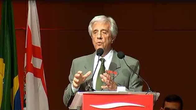 Vázquez presentó en San Pablo su plan de inversiones en infraestructura