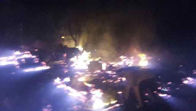 Falleció una mujer tras incendiarse su casa en balneario Santa Isabel