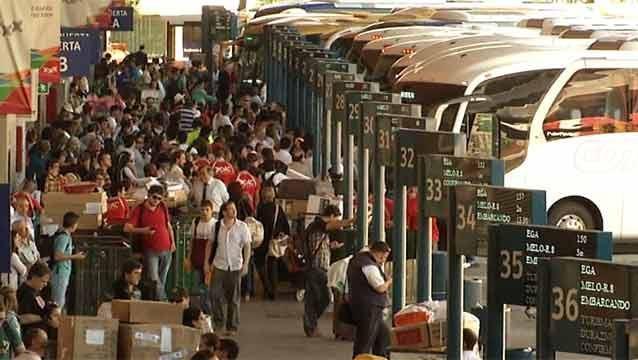 Transporte interdepartamental prevé problemas por paro de estacioneros
