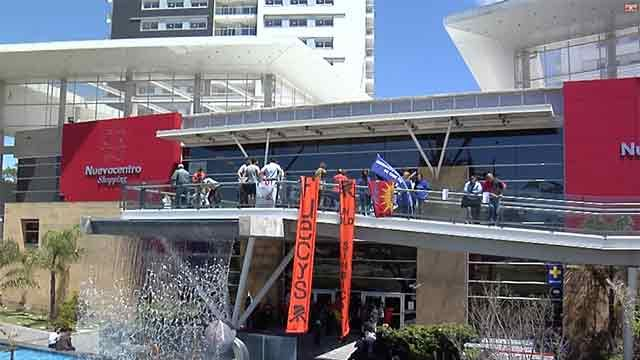 Sindicalistas del comercio bloquearon acceso a Nuevocentro Shopping