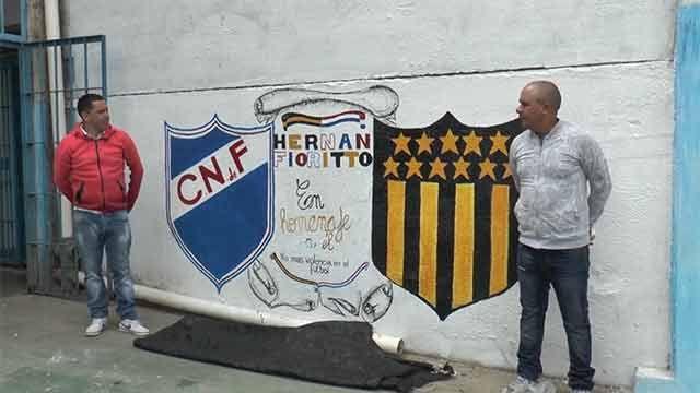 El Penal de Libertad homenajeó a hincha asesinado en Santa Lucía