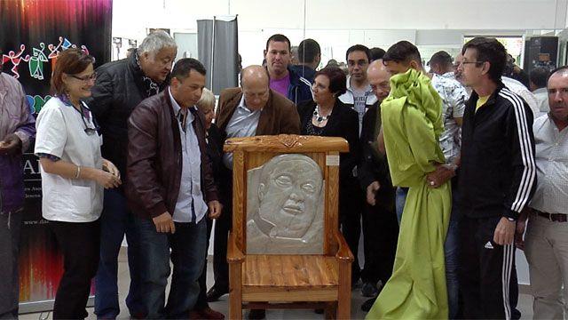 Pacientes del Vilardebó homenajearon a Enrique Espert, presidente de Daecpu