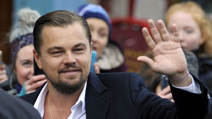 DiCaprio almorzó en un restaurante escocés que ayuda a personas sin hogar