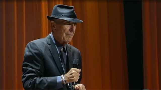 Leonard Cohen murió en su casa tras una caída y un fuerte golpe