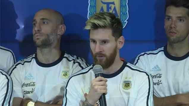 El plantel de Argentina anuncia que no hablará más con la prensa