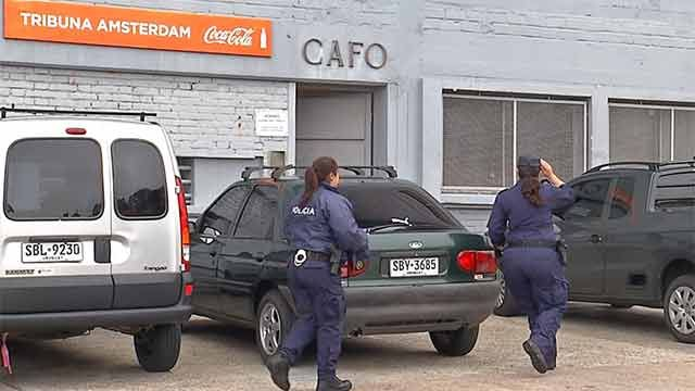 Orden de captura para tres hinchas por destrozos en Racing - Peñarol