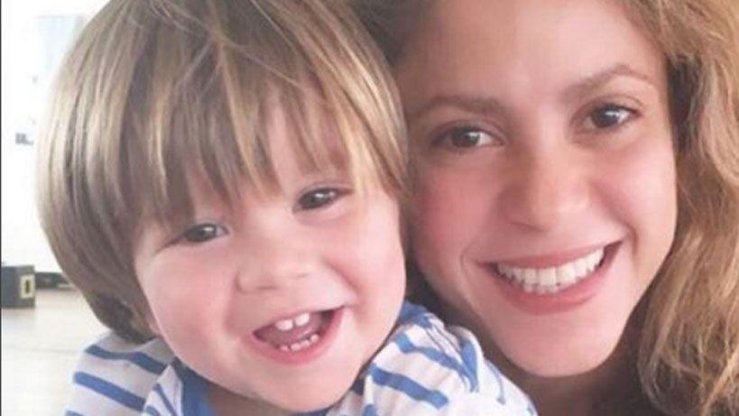 Le dieron el alta a Sasha, el hijo menor de Shakira y Gerard Piqué