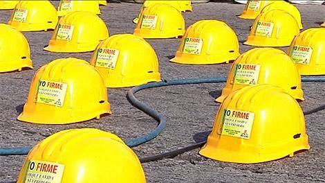 Falleció un obrero de la construcción y el Sunca hace paro este viernes