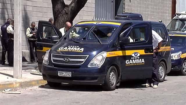 Nueve detenidos por robo de remesa de un millón de pesos